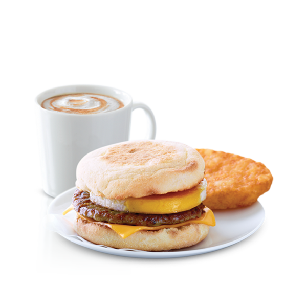 Chicken Sausage McMuffin w/Egg Meal