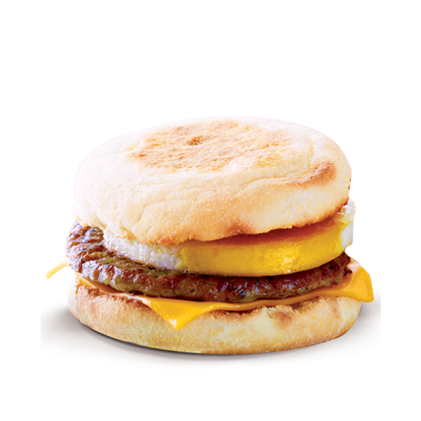 Chicken Sausage McMuffin with Egg
