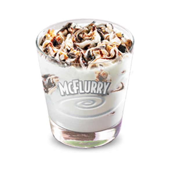 McFlurry Cornetto Chocolate