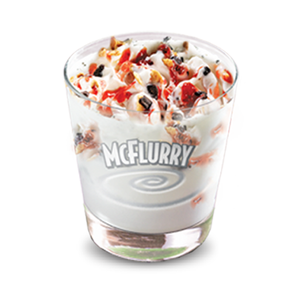 McFlurry Cornetto Strawberry